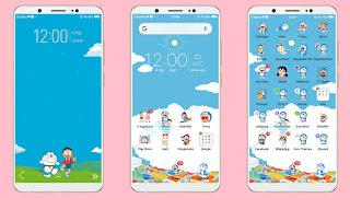 Cara Mengubah Tema HP Vivo Menjadi Tema Doraemon