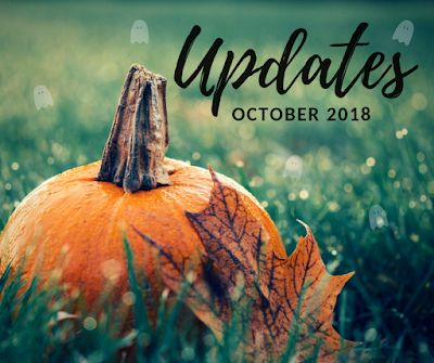 "Image of a pumpkin in grass that states ""Updates October 2018"""