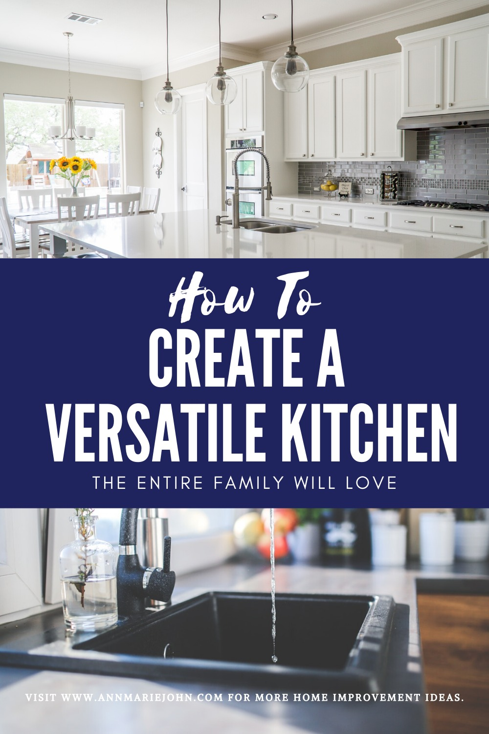 Versatile Kitchen Pinterest Image