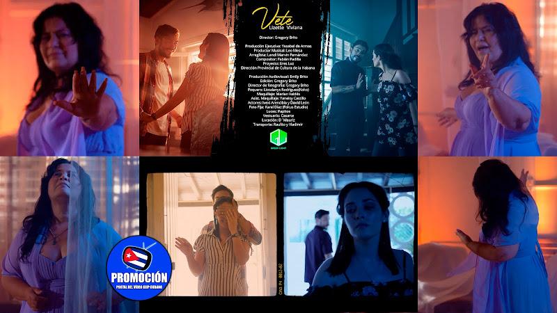Lizette Viviana - Vete! - Videoclip - Director: Gregory Brito. Portal Del Vídeo Clip Cubano. Música romántica cubana. Canción. Cuba.