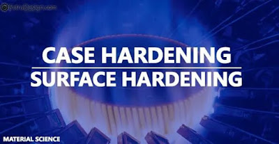CASE HARDENING:  TYPES, WORKING PRINCIPLES AND APPLICATIONS