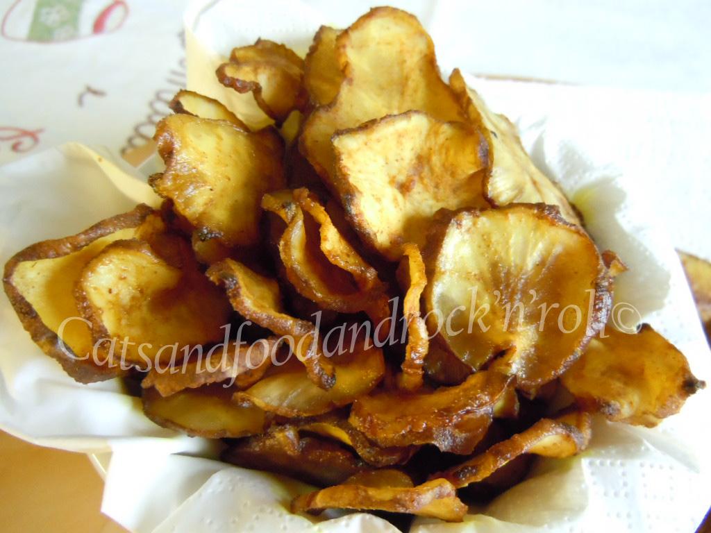 Chips di topinambur nell essiccatore ricetta ed for Ah roy thai cuisine