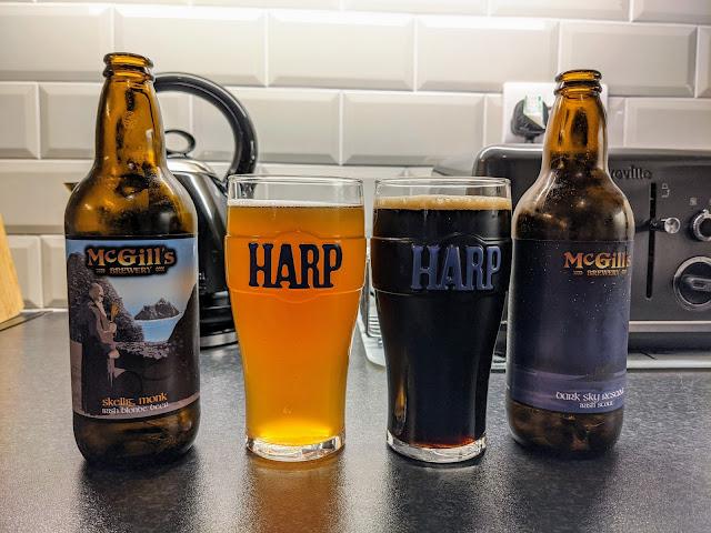 McGills craft beer based in Waterville Ireland