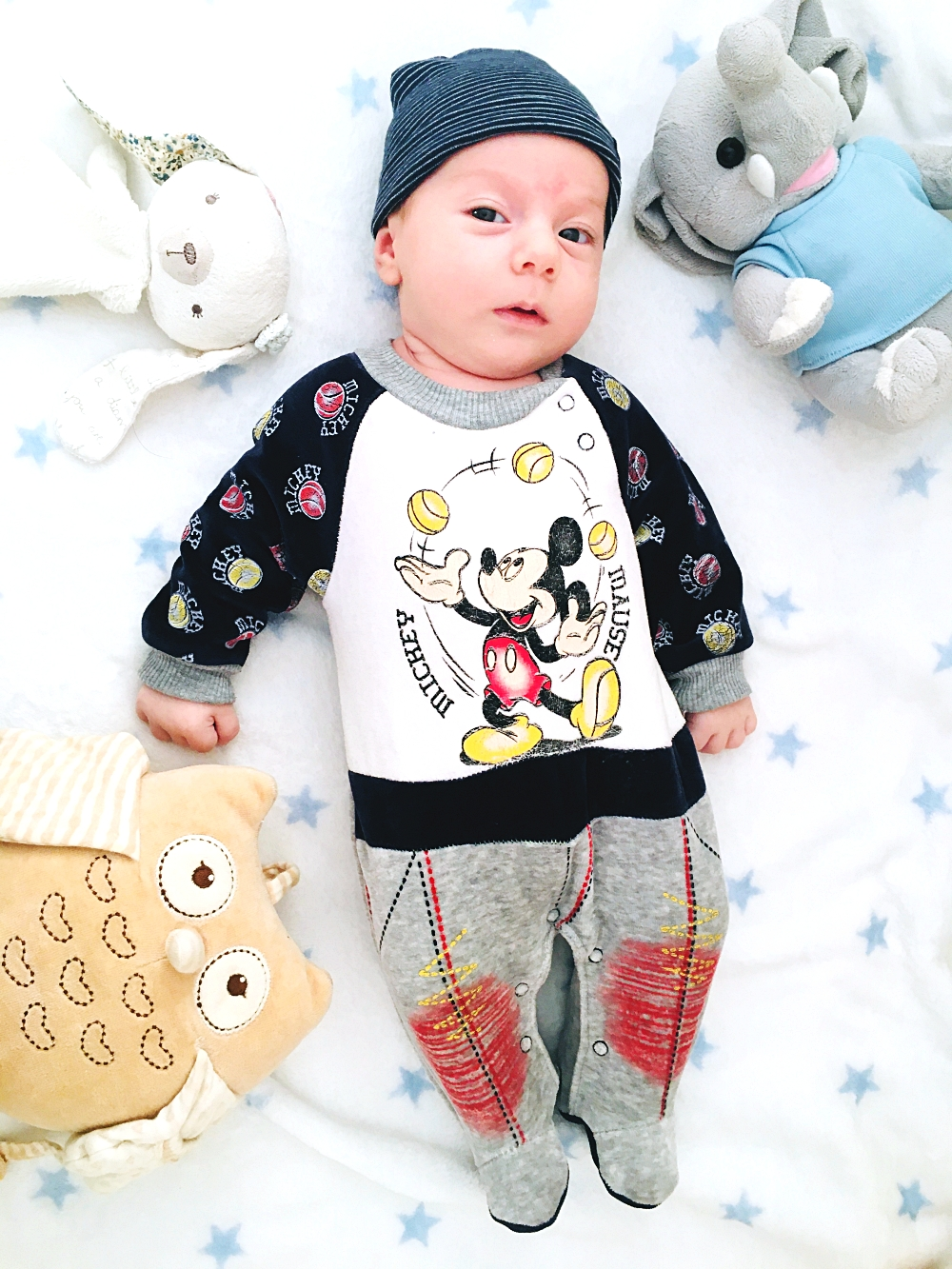 Mickey Mouse velvet onesie for a newborn/baby, Mickey Mouse kids clothes, Miki Maus odeca za bebe