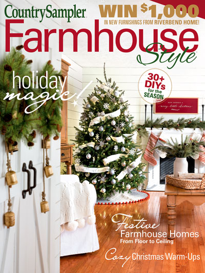 Farmhouse Style Holiday Feature 2020