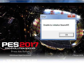 "Cara Atasi Error ""Unable to initialize SteamApi"" di PES 2017"
