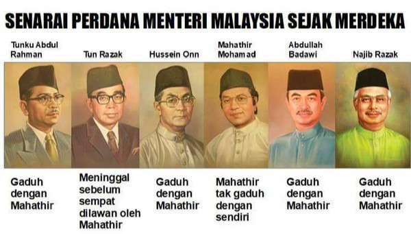Semua orang salah, hanya Mahathir yang betul