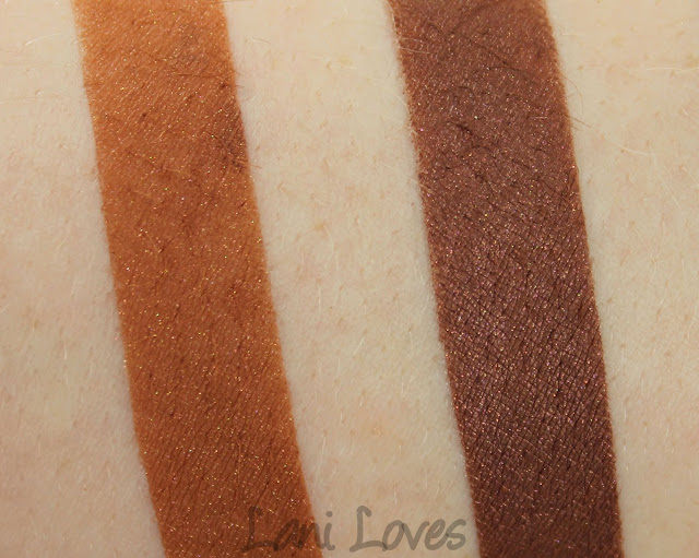 Darling Girl Bob-B-Q eyeshadow swatches & review