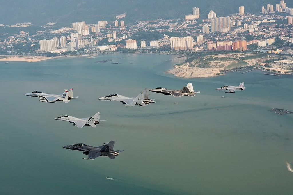 Bagaimana Perbandingan Pesawat Militer Seluruh Dunia? Mari Kita Lihat