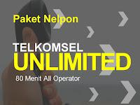 Baru !! Paket Nelpon Sepuasnya Telkomsel AS LOOP simPATI + 80 Menit All Operator
