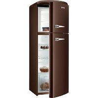 Refrigerador Gorenje Retrô RF60309OCH Chocolate 294L
