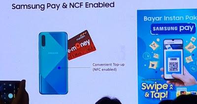 Lebih Gampang Gunakan NFC serta Samsung Pay