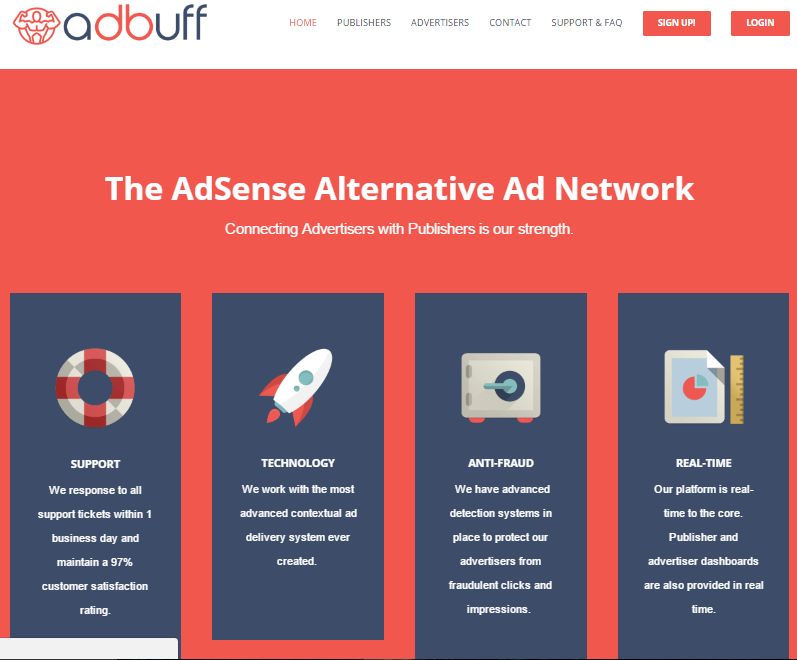 Adbuff Review Best Adsense Alternative Cpmcpc Ad Network
