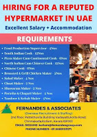 HIRING FOR A REPUTED HYPERMARKET IN UAE