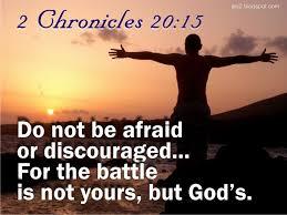 Facing The Battle - ODB Devotional 27 November 2020