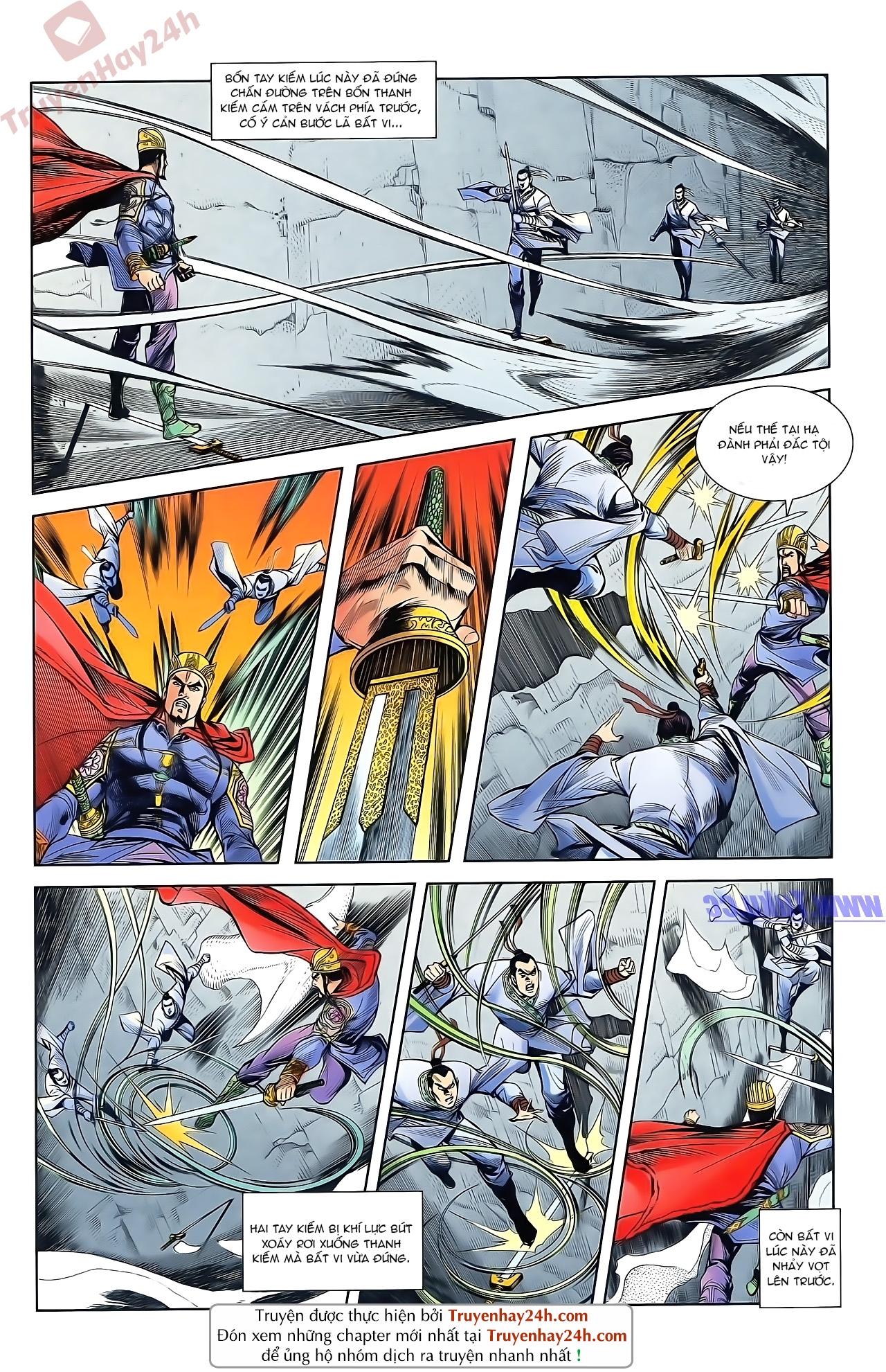 Tần Vương Doanh Chính chapter 47 trang 23
