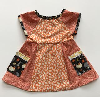 Fall Foliage, play dress, hodgepodge, botanical prints, one of a kind, handmade, designer, fashion, slow fashion, fashionable kids, fashion baby