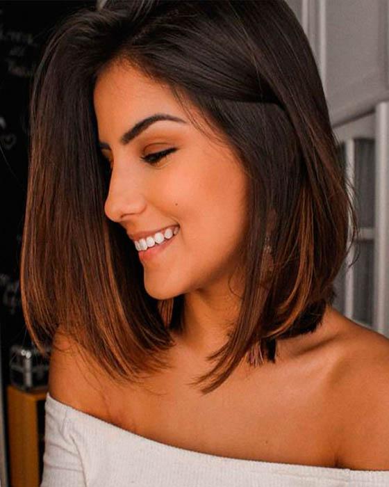 tinte cabello corto morenas