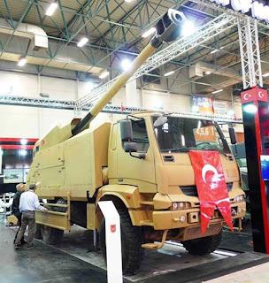 Howitzer Swagerak Kamyona Monteli Obus (KMO)
