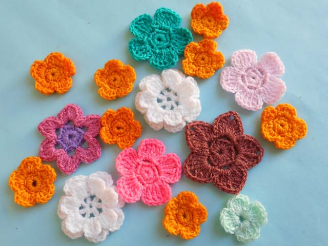 Crochet Crosia Free Patttern With Video Tutorials Crochet Flower