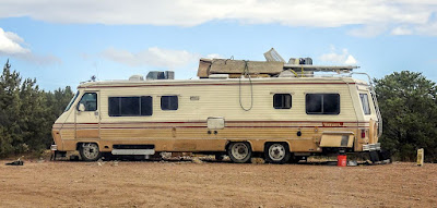 Boondocking for a couple of days near Penrose, CO