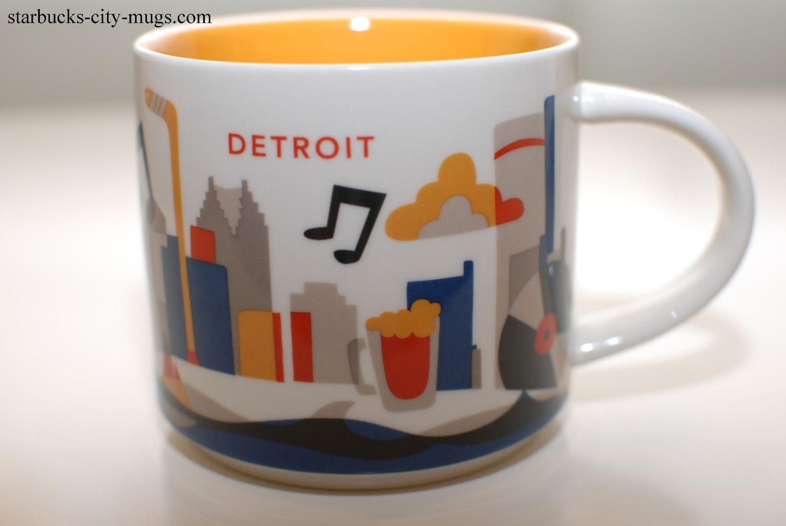 Starbucks City Mugs: YOU ARE HERE SERIES