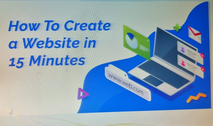 How To Make A Website Under 15 Minutes In