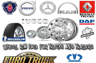 Wheel Rim Pack for trucks & Trailers 1.36