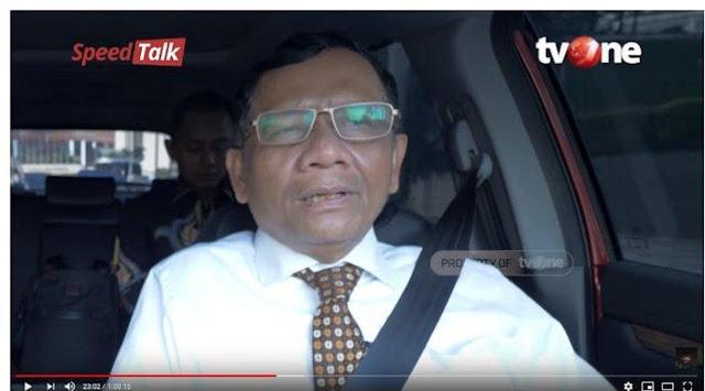 Blak-blakan, Mahfud MD Akui Kerja di MK Lebih Asyik Ketimbang Jadi Menteri