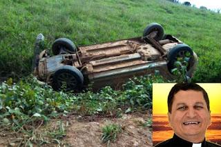 Padre Guiba sofre acidente