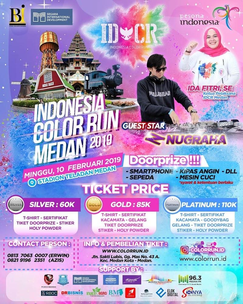 Indonesia Color Run - Medan • 2019
