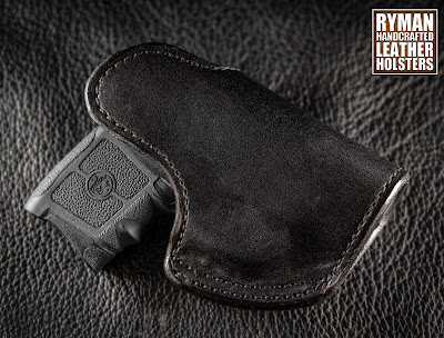 Leather Holster for Bodyguard, LCP, LCPII