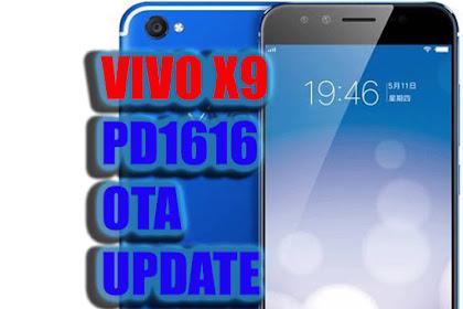 Vivo X9 [PD1616] OTA Update Firmware | Via Stock Recovery