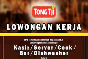 Lowongan Kerja Bandung Karyawan Teh Tong Tji Bandung