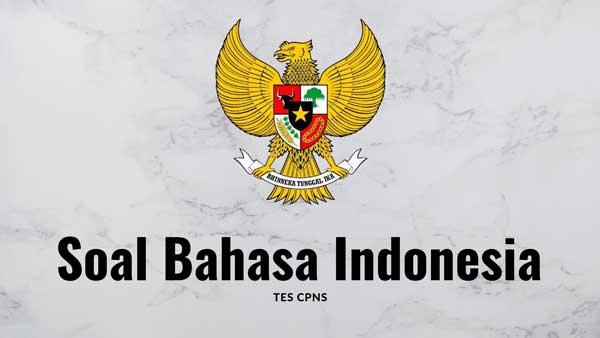 contoh soal cpns bahasa indonesia