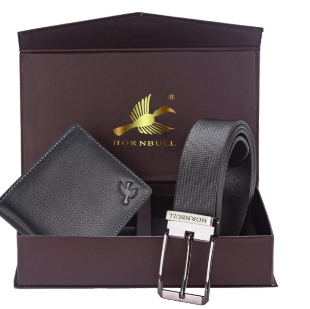 Personalized Wallet and Belt combo
