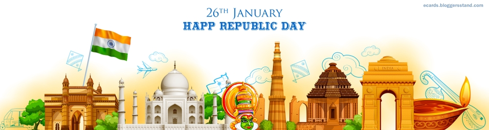Happy republic day 2021 Wallpapers images facebook cover hd free download