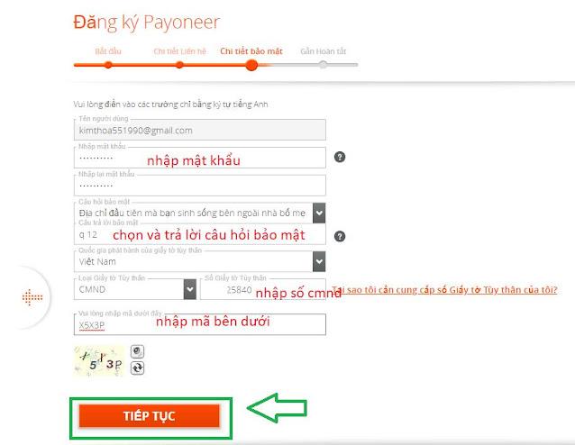 Hướng dẫn đăng ký tài khoản payoneer  và rút tiền từ payoneer về việt nam