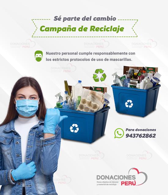 Se parte del cambio Campaña de reciclaje