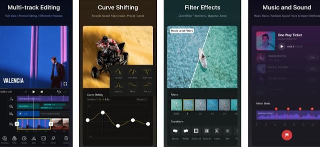 تطبيق vn video editor
