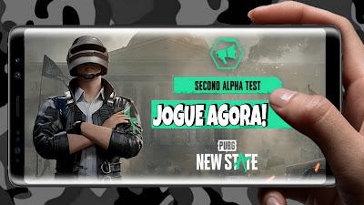 Pubg new state second Alpha teste gameplay