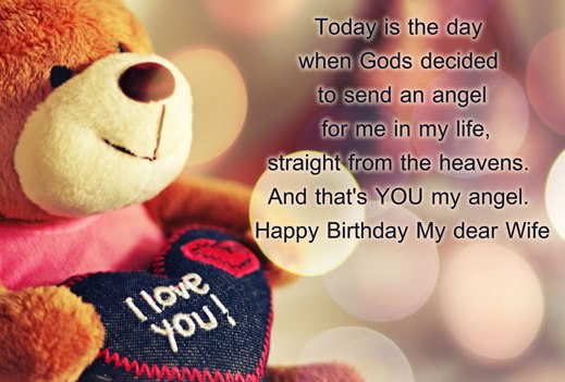 Happy Birthday Wishes To Wife ~ Happy birthday wishes images for wife