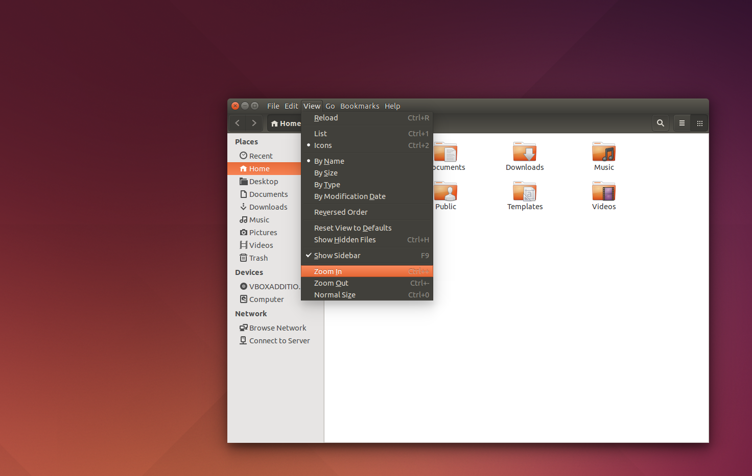 Locally Integrated Menus in Ubuntu 14.04 Trusty Tahr