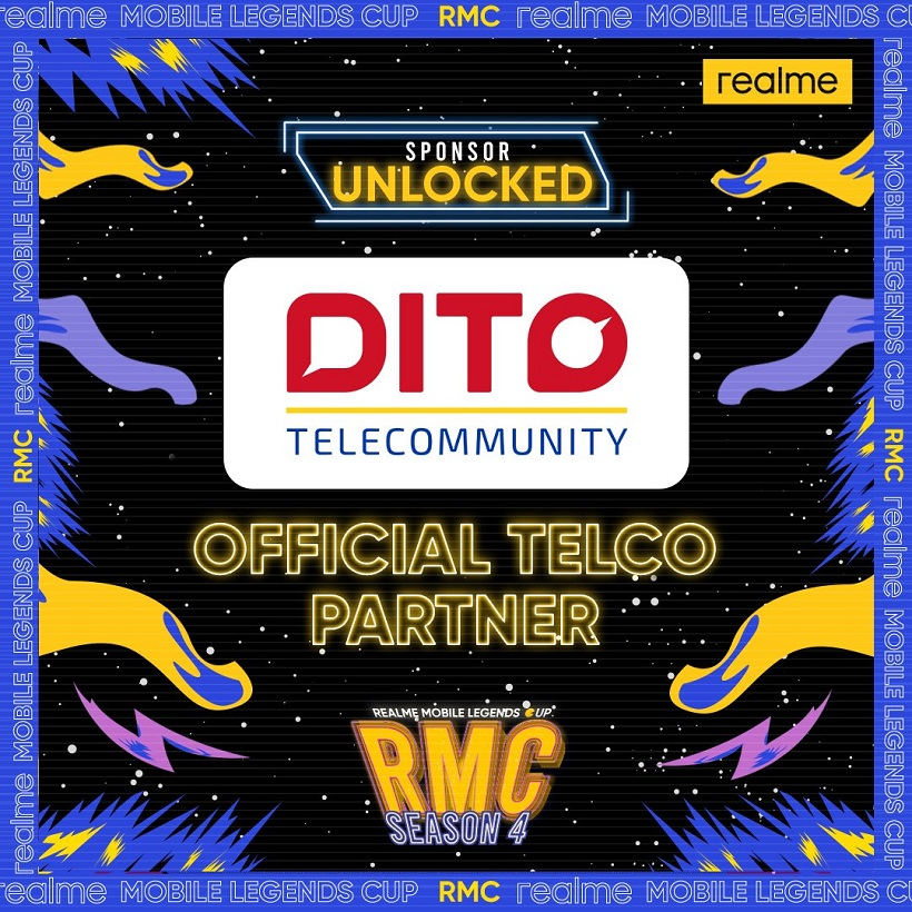 DITO empowers Filipino gamers as realme Cup official telco partner