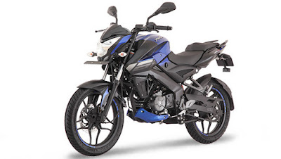 New 2017 Bajaj Pulsar NS 160 blue side look