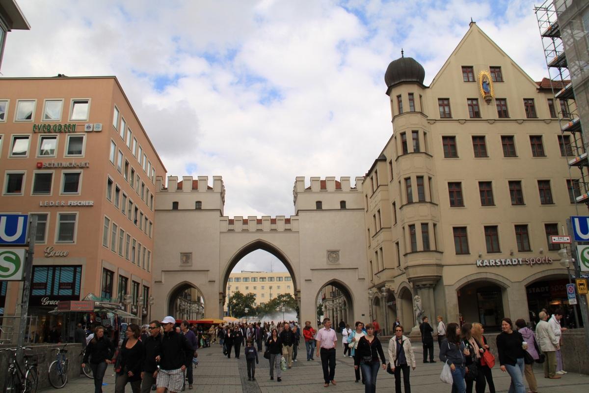我的旅行日記: 德國.慕尼黑.市區觀光購物