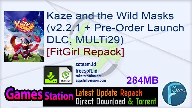 Kaze and the Wild Masks (v2.2.1 + Pre-Order Launch DLC, MULTi29) [FitGirl Repack]