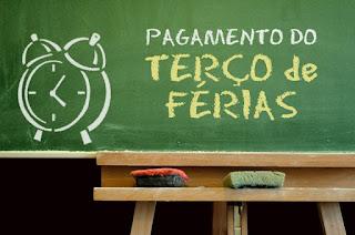 Prefeitura antecipa pagamento de terço de férias dos professores.