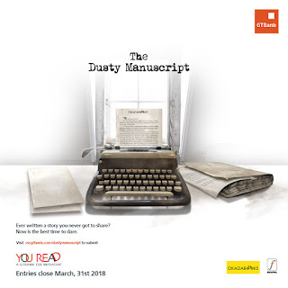 Looking to publish your book? Join the GTBank Dusty Manuscript Contest