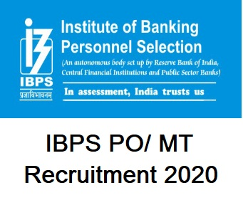 IBPS CWE PO 2020 Online Form, IBPS PO 2020 Exam Date, IBPS Recruitment 2020, IBPS PO 2020 Notification,